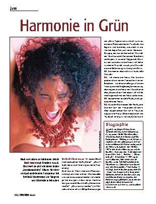Harmonie in Grün