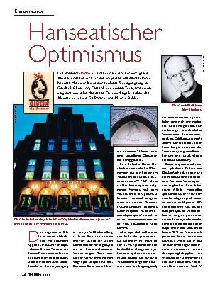 Hanseatischer Optimismus