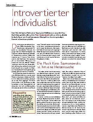 Introvertierter Individualist