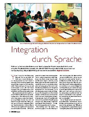 Integration durch Sprache