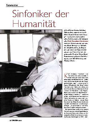 Sinfoniker der Humanität