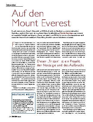 Auf dem Mount Everest