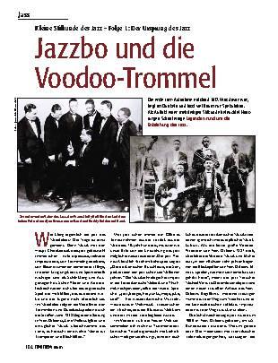 Jazzbi und die Voodoo-Trommel