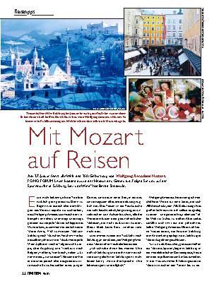 Mit Mozart auf Reisen