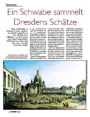 Ein Schwabe sammelt Dresdens Schätze