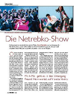 Die Netrebko-Show