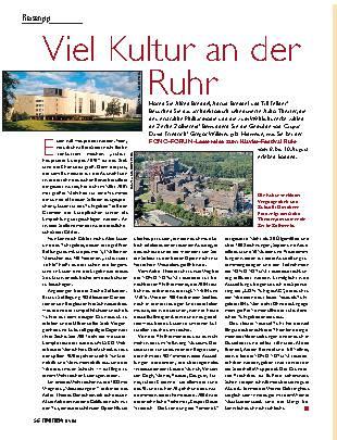 Viel Kultur an der Ruhr