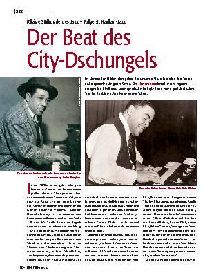 Der Beat des City-Dschungels