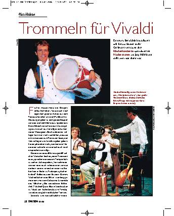 Trommeln für Vivaldi