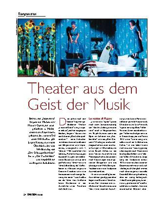 Theater aus dem Geist der Musik