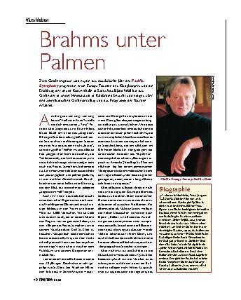 Brahms unter Palmen