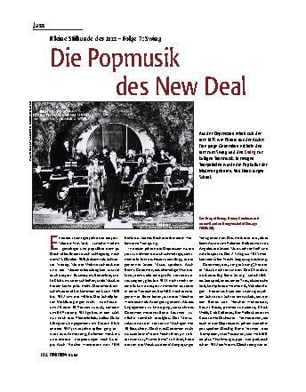 Die Popmusik des New Deal