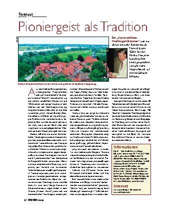 Pioniergeist als Tradition