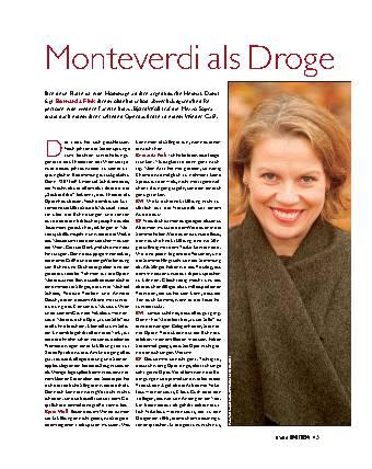 Monteverdi als Droge