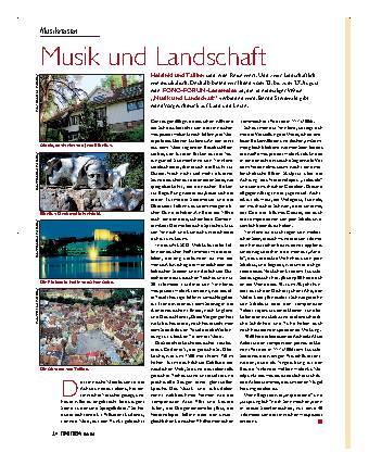 Musik und Landschaft