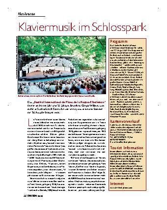 Klaviermusik im Schlosspark