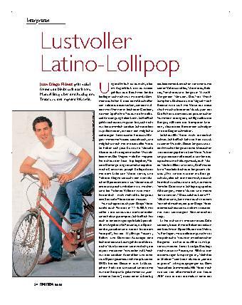 Lustvoller Latino-Lollipop
