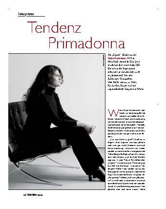 Tendenz Primadonna