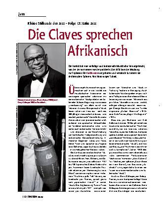 Die Claves sprechen Afrikanisch