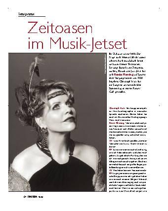 Zeioasen im Musik-Jetset
