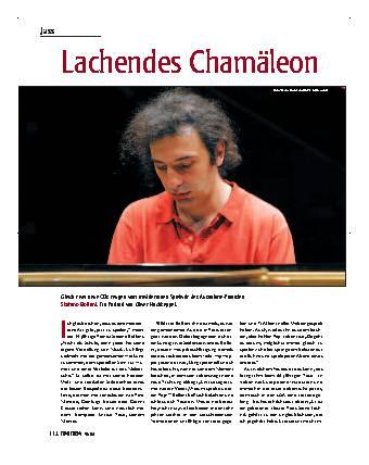 Lachendes Chamäleon