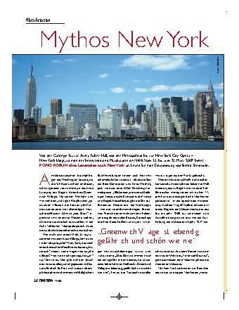 Mythos New York