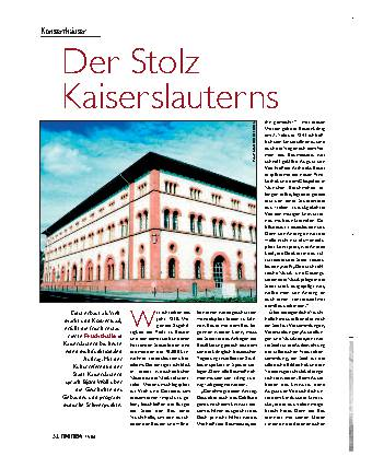 Der Stolz Kaiserslauterns