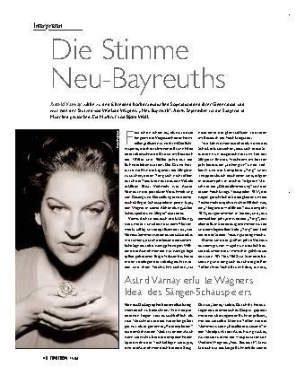 Die Stimme Neu-Bayreuths