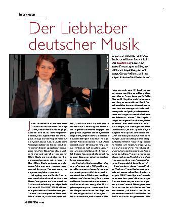 Der Liebhaber deutscher Musik