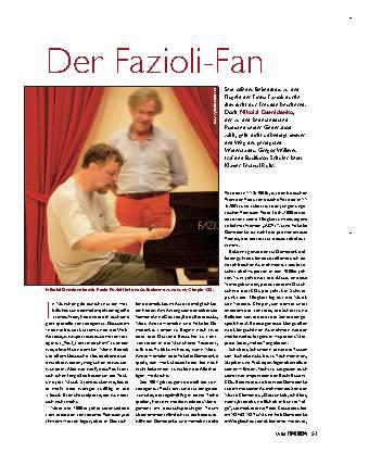 Der Fazioli-Fan