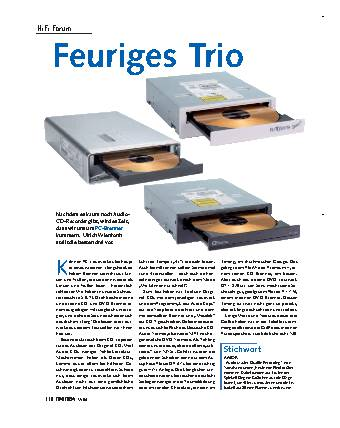 Feuriges Trio