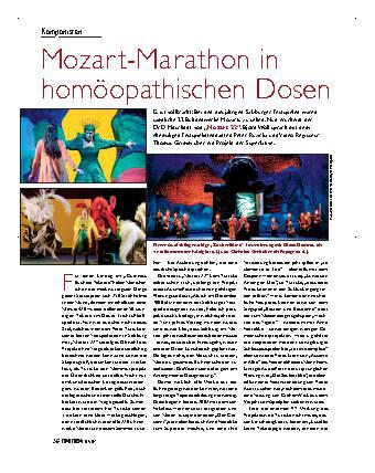 Mozart-Marathon in homöopathischen Dosen