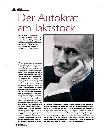 Der Autokrat am Taktstock