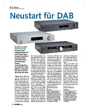 Neustart für DAB