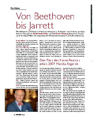 Von Beethoven bis Jarrett