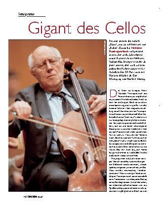 Gigant des Cellos
