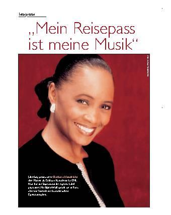 """""""Mein Reisepass ist meine Musik"""""""