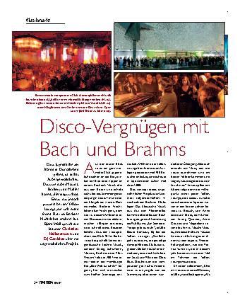 Disco-Vergnügen mit Bach un d Brahms