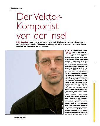 Der Vektor-Komponist vond er Insel