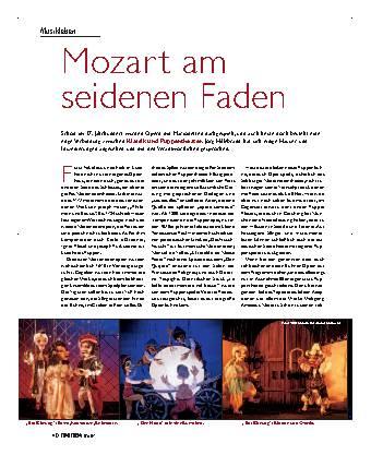 Mozart am seidenen Faden