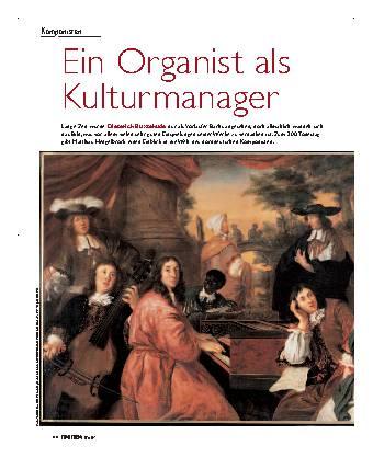Ein Organist als Kulturmanager