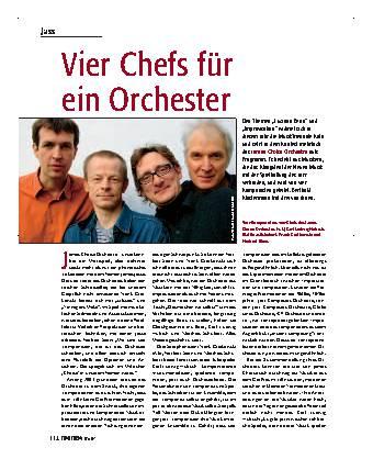 Vier Chefs für ein Orchester