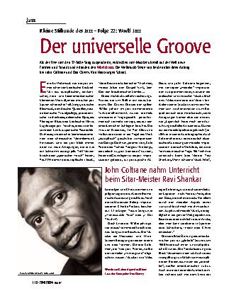 Der universelle Groove