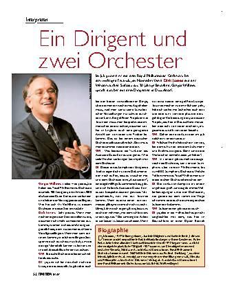 Ein Dirigent und zwei Orchester