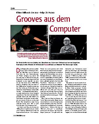 Grooves aus dem Computer