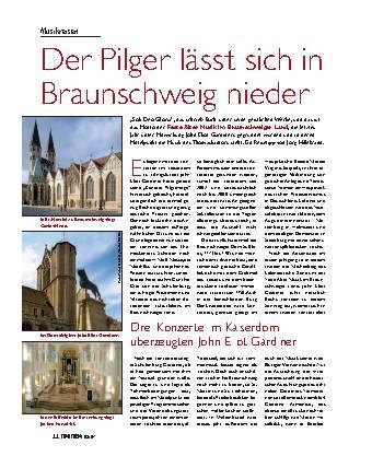 Der Pilger lässt sich in Braunschweig nieder