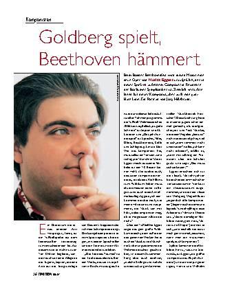 Goldberg spielt, Bethoven hämmert
