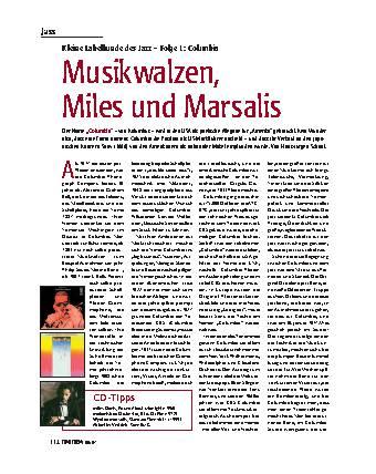 Musikwalzen, Miles und Marsalis