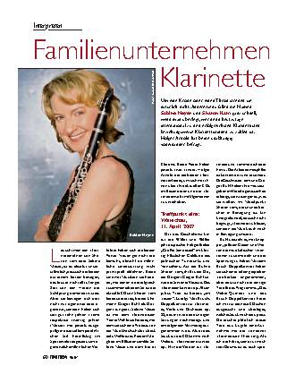 Familienunternehmen Klarinette