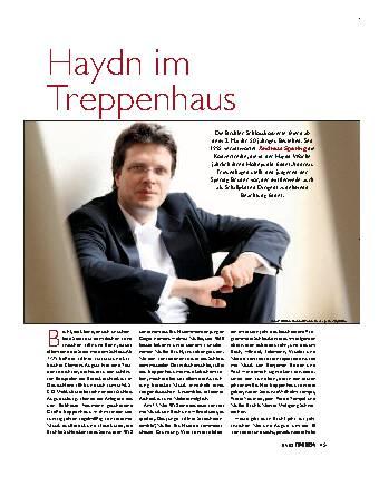 Haydn im Treppenhaus